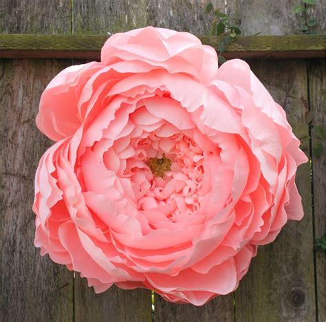 paper flower peony tutorial corner blog giant closed crepe paper peony