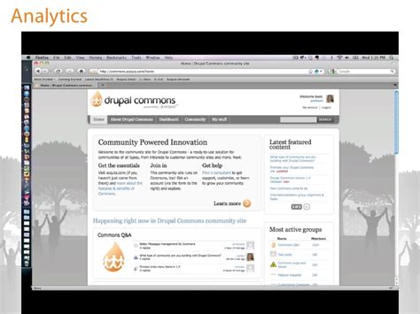 theme drupal commons accelerate your business with drupal gardens and drupal
