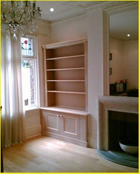NYC Custom Built In Fireplace Bookcases Bookshelves Wall Units NYC New York City Manhattan