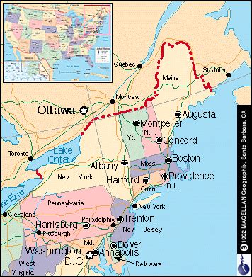 northeast usa map with capitals search results for northeastern states and capitals