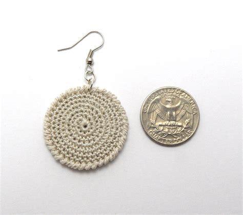 pattern crochet earrings crochet pattern for circle earrings p0015