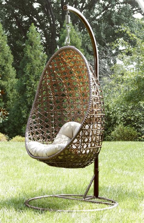 hanging outdoor chair ty pennington style mayfield hanging chair with stand