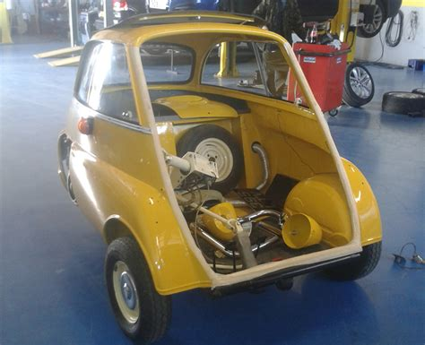 Isetta Auto by Vintage Bmw Isetta Buble Car