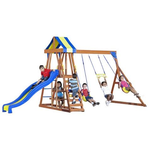 swing academy backyard discovery tucson wooden swing set academy