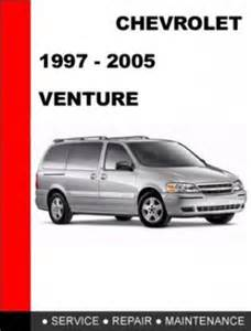 chevy chevrolet venture service repair manual 1997 1998