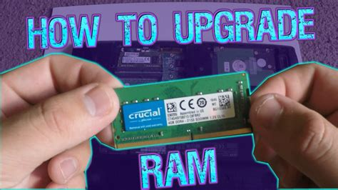 how to upgrade install ram in acer aspire e15 laptop