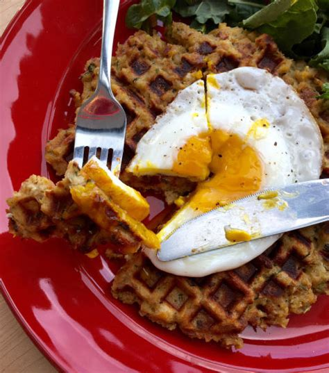 kristine brabson how to make stuffing waffles thanksgiving stuffing
