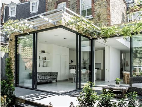 Like The Staggered Glass Doors Opening Out To Garden Sliding Glass Doors Open Both Sides