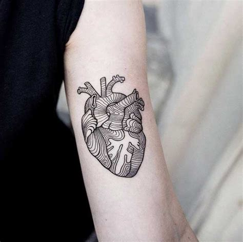 tattooed heart tumblr beautiful blackwork tattoos by polish artist uls metzger