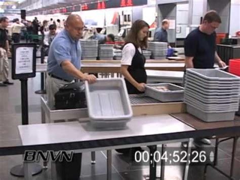 The View Discuss Airport Security by Airport Security Footage September 2006 Minneapolis