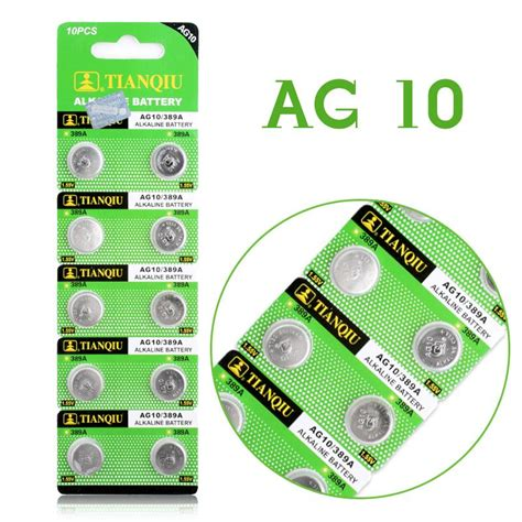 Baterai Kancing Lithium Ag10 Lr1130 1 55v 1 Pcs סוללות תא לחצן פשוט לקנות באלי אקספרס בעברית זיפי