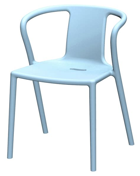 air armchair armchair sky blue by magis