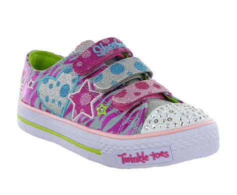 skechers light up sneakers for toddlers new infants skechers twinkle toes light up
