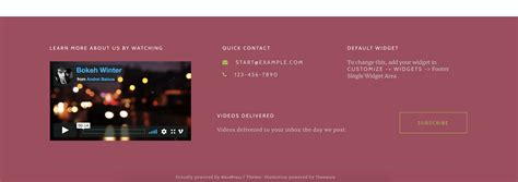 change background color css how to change footer background color in themotion