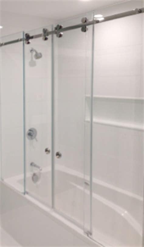 glass shower barn door the rock glass mirror co 928 527 3333 showers doors