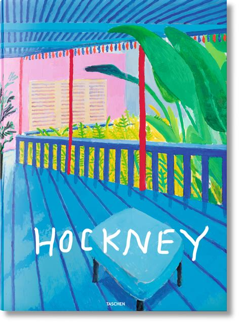 david hockney a bigger picture book delve into david hockney s oeuvre a bigger book taschen
