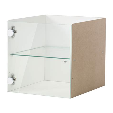 KALLAX Insert with glass door White 33x33 cm   IKEA