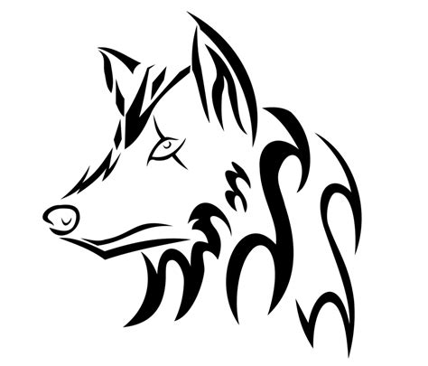how to draw a wolf tattoo wolf tattoo step by step tribal wolf head by ookami 95 on deviantart