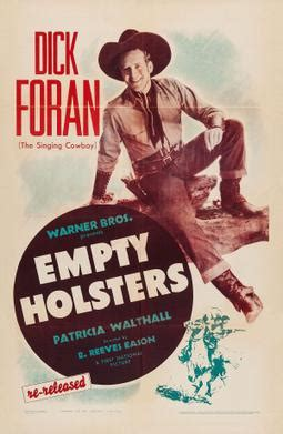 empty holsters wikipedia