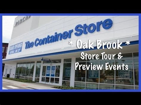 stores like the container store the container store oak brook store tour preview