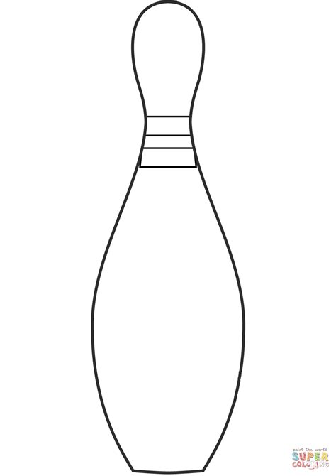 coloring pages bowling balls pins bowling pin coloring page free printable coloring pages