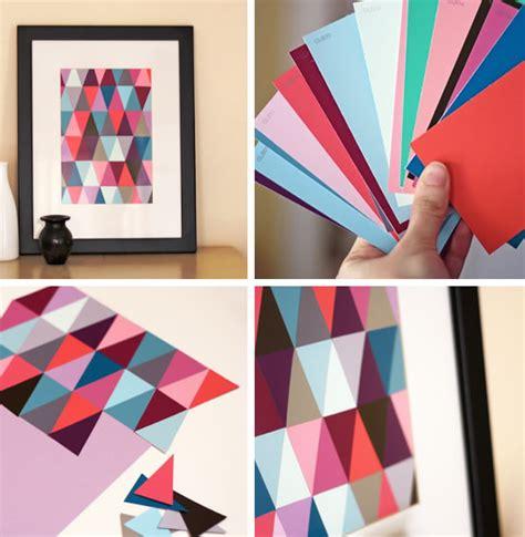 cuadros creativos 30 manualidades originales con papel muy bonitas