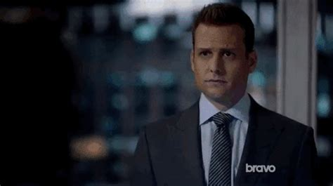 Harvey Specter Hairstyle by Harvey Specter Gif Find On Giphy