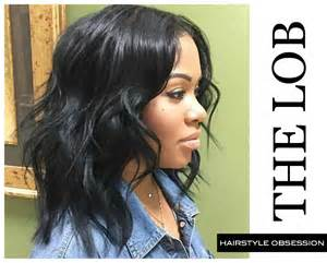 weaved lob hairstyle the lob hairstyle obsession that just turned into a purchase