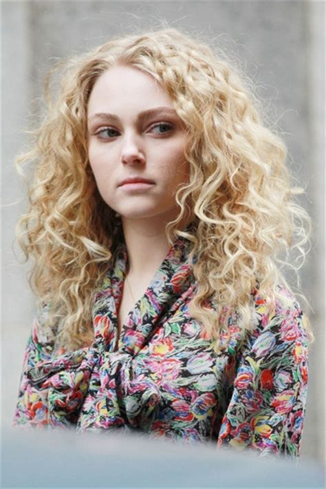annasophia robb hair curly 25 best ideas about natural looking curls on pinterest