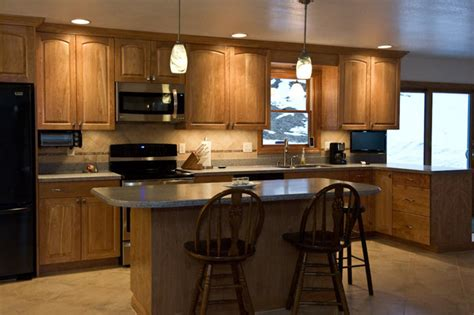 clear coat for cabinets clear coat red birch kitchen and breakfront northwoods