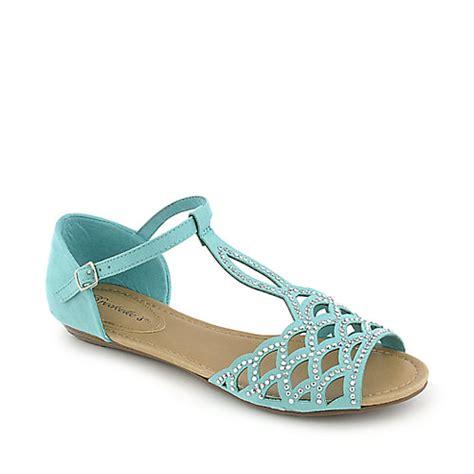 mint flat shoes breckelle s ronda 03 mint green flat jeweled sandal