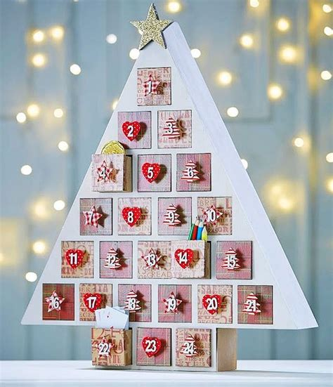how to make a advent calendar 1000 ideas about wooden advent calendar on