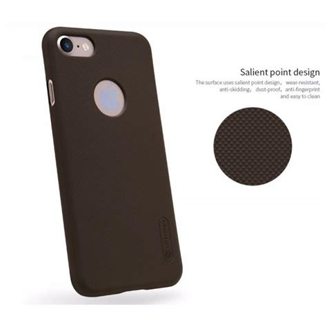 Nillkin Frosted Iphone 7 Plus Black nillkin frosted shield for apple iphone 7