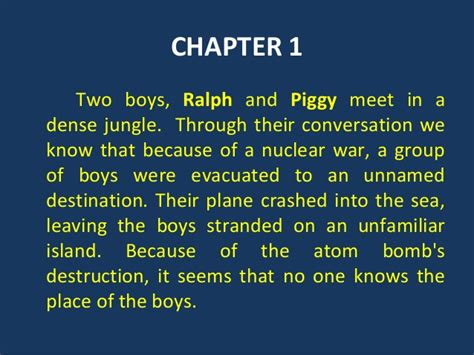 theme of chapter one lord of the flies the lord of the flies themes lord of the flies themes from