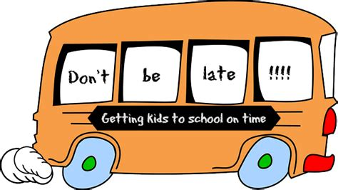 What Not To Dont Come Late by Don T Be Late Clipart Clipartxtras