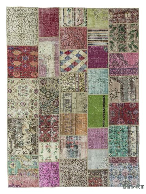 Patchwork Rugs Turkey - k0018727 multicolor turkish patchwork rug