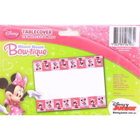 minnie mouse table cover amscan minnie mouse table cover from category decoration