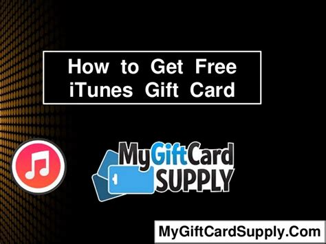 How To Get Itunes Gift Card - how to get free itunes gift card legally