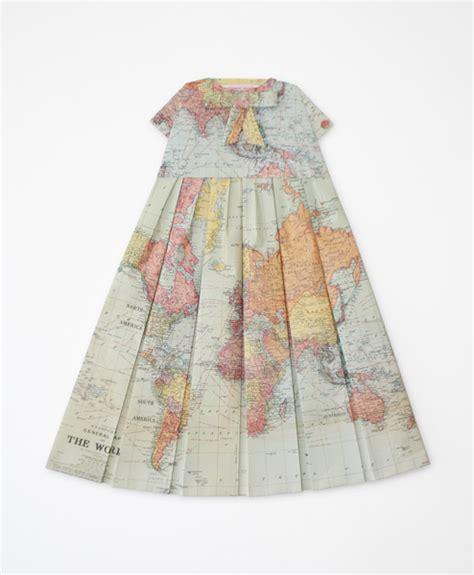 Elisabeth Lecourts Map Clothing by Elisabeth Lecourt Les Robes G 233 Ographiques