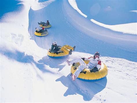 Snow Tubbing of michigan international center winter