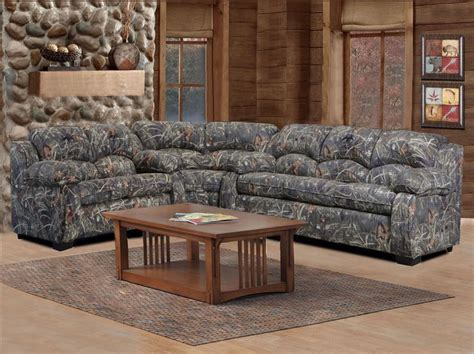Duck Commander Sectional 3 Piece Sofa Loveseat And Wedge Camo Living Room Furniture
