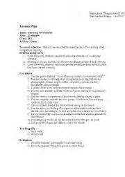 home and careers lesson plans english worksheets vocabulary lesson plan
