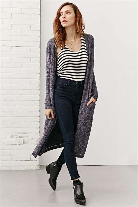 Cardigan Maxi silence noise open front maxi cardigan looks for fall