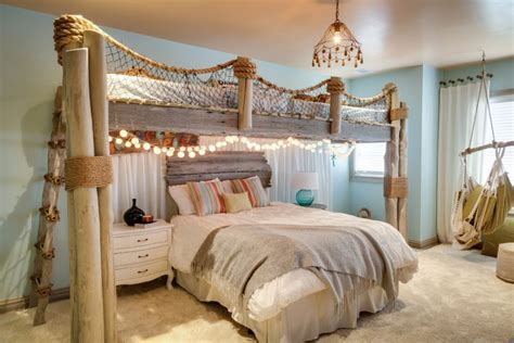 Beach Decorations For Bedroom | 49 beautiful beach and sea themed bedroom designs digsdigs