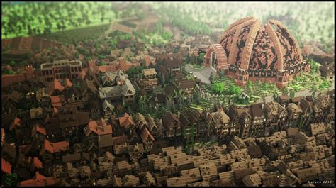king s landing game of thrones king s landing recreated in minecraft with mind blowing