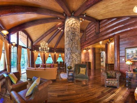 log homes interior designs murray arnott design signature collection interior log home