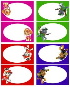 paw patrol food labels 1 free printable lottie 7th birthday party ideas paw