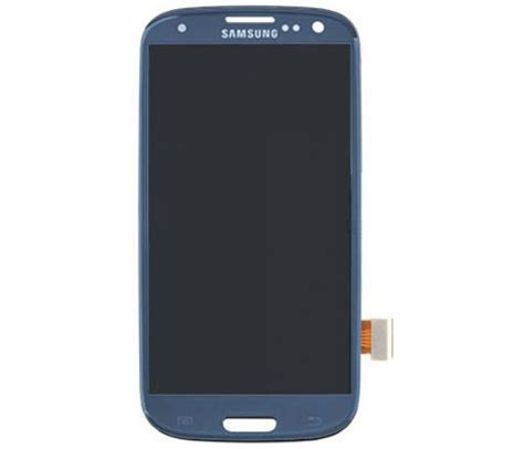 Samsung Touch Blue galaxy s3 front screen