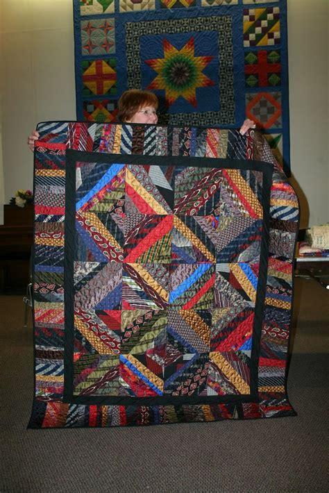 necktie quilt sewing