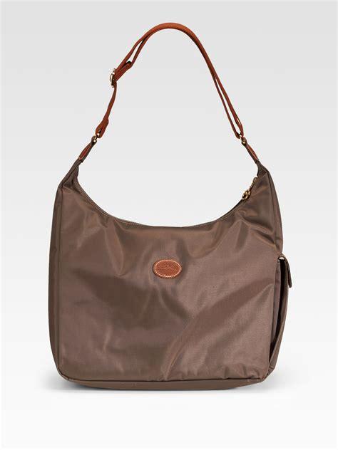 Longch Le Pliage Slh longch le pliage hobo bag in brown lyst
